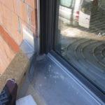 Wandanschluß Terrasse